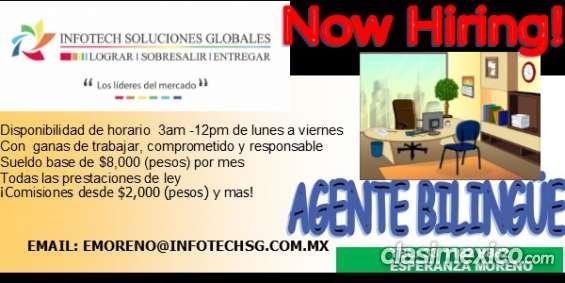 Agente bilingue mexico