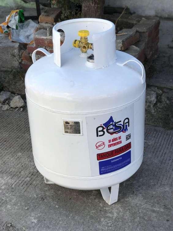 Tanque de gas estacionario 120lts en cuajimalpa